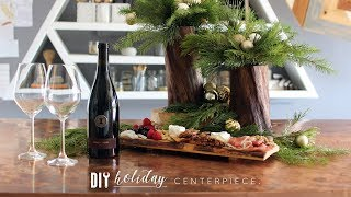 DIY Tree Branch Vases, Serving + Charcuterie Board
