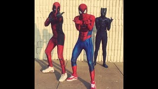 Baixar Marvel Characters Dance To -TAY-K x THE RACE #FREETAYK