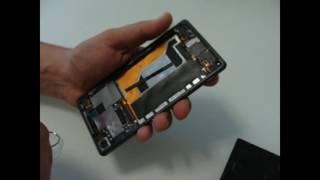 Sony Xperia Z3 замена экрана