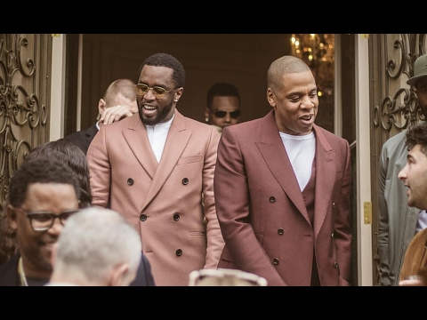 "Jay Z & Diddy ""Treated Like Gods At Roc Nation Grammy Brunch"""