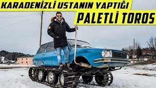 Paleted Toros (Renault 12) Made by an Turkish Engineer