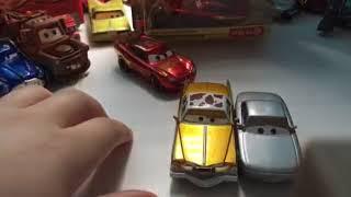 Disney Pixar cars 3 Sterling and Rusteze Racing Center Lightning McQueen review
