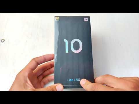 Распаковка Xiaomi MI 10 Lite на Snapdragon 765G