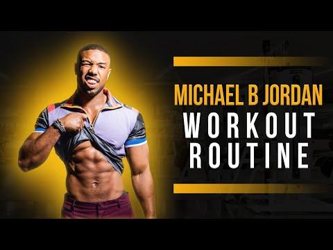 Michael B. Jordan Workout Routine Guide