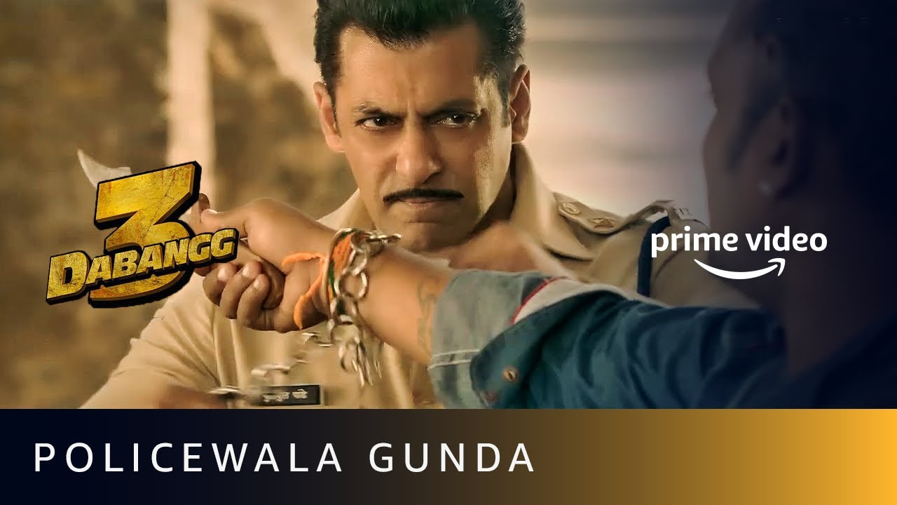 Download Policewala Gunda   Dabangg 3   Salman Khan   Amazon Prime Video