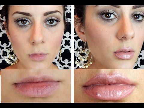 How to Make Your Lips Look BIGGER and FULLER! (with makeup ...