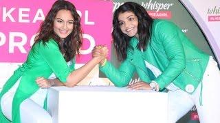 Uncut Sonakshi Sinha & Olympic Winner Sakshi Malik Launche Whisper