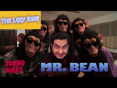 Bruno Mars - Lazy Song [FUNNY MR BEAN MUSIC VIDEO]
