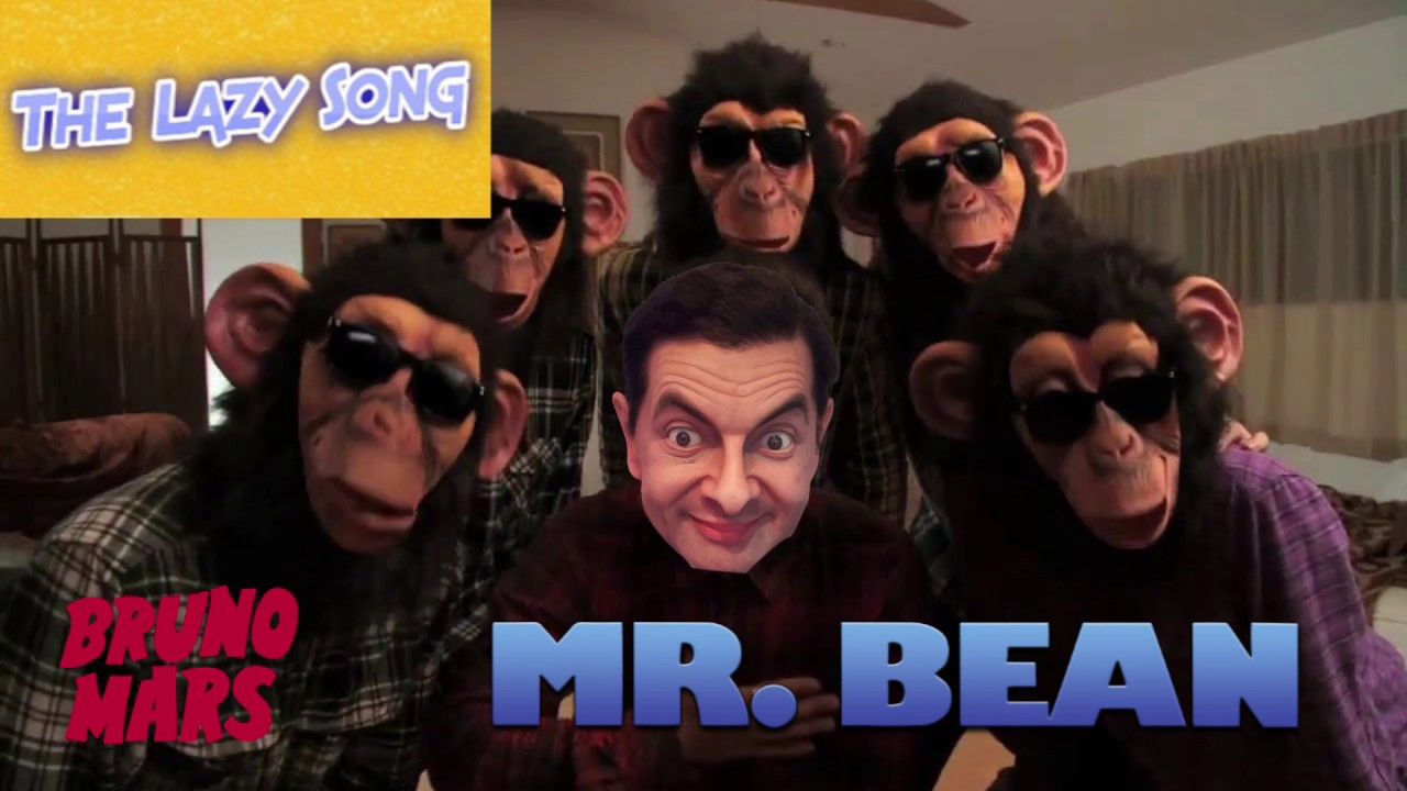 Bruno Mars Lazy Song Funny Mr Bean Music Video