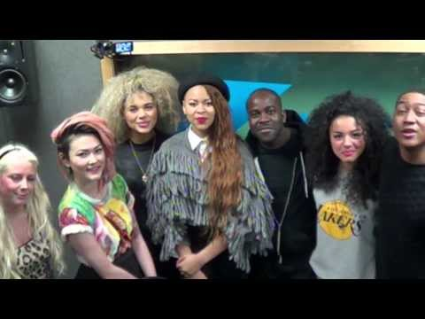Neon Jungle in the studio and Kanyes lullaby - Kiss Breakfast Takeaway