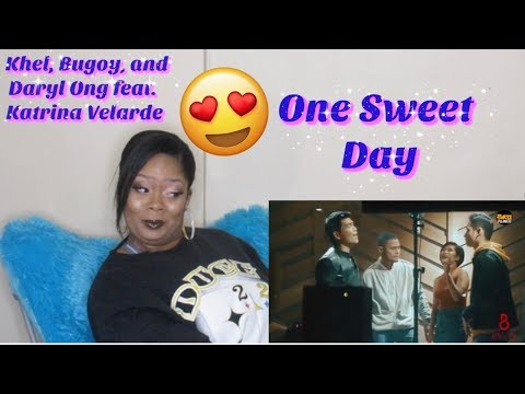 Khel Bugoy and Daryl Ong featKatrina Velarde-One Sweet DayReactionCoverVocals done right👏🏼