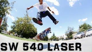 SWITCH 540 LASER FLIP | Cody Cepeda - Trick Challenge