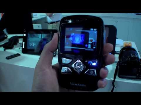 ViewSonic 3D Camcorder Hands On - English