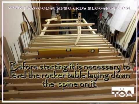 Part 2 come costruire una tavola da surf in legno how to build a hollow wooden surf - Tavola da surf a motore ...