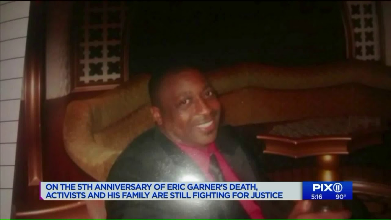 On 5th anniversary of Eric Garner`s death, activists and family fight for justice