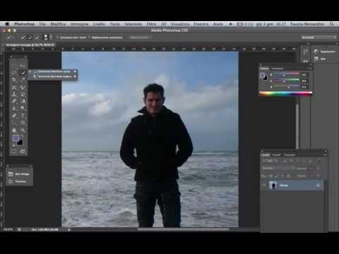 Photoshop CS6: Scontornare E Ritagliare Una Figura