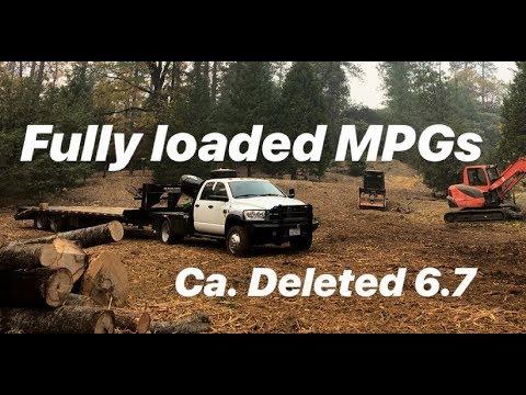 6.7 Cummins. Fuel mileage pulling 30k...