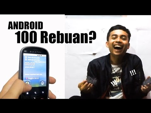 Unboxing Android Rp.100 REBUAN !!!