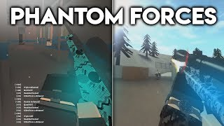 SOME OF MY BEST TRICKSHOTS & SNIPING CLIPS on PHANTOM FORCES... (roblox)