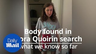 Nora Quoirin: Body found in search for missing teenager in Malaysia