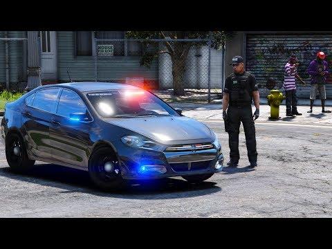 2017 Dodge Dart >> GTA 5 LSPDFR #530 | Gang Unit | Unmarked Dodge Dart Police ...
