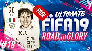 HOW I GOT AN ICON FOR FREE ON FIFA 19!!! RTG EP18