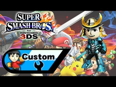 Super Smash Bros for 3DS -  Custom/Creation - Giragloss