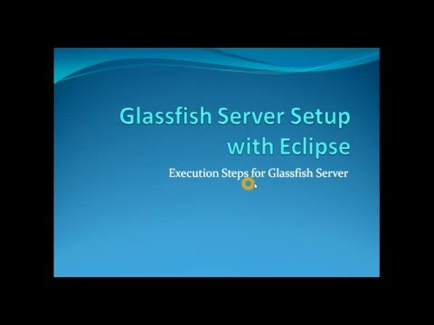 Glassfish Server Setup With Eclipse Luna