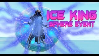 FORTNITE - ICE KING SPHERE EVENT - WAITING FOR MOVEMENT AT POLAR PEAK - HOVERING OVER INFINITY BLADE