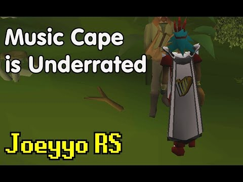 The Music Cape is Underrated - OSRS