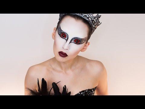 Black Swan Costume Makeup | Halloween 2016