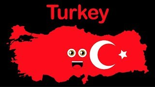 Turkey Geography/Country of Turkey Video