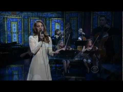 HD Lana Del Rey  Best  Performance of  Games David Letterman 020212