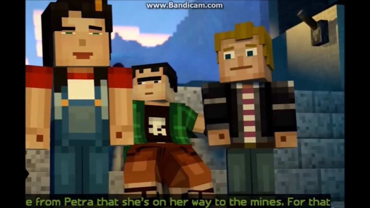 Lukas X Jesse Stay Minecraft Story Mode Youtube