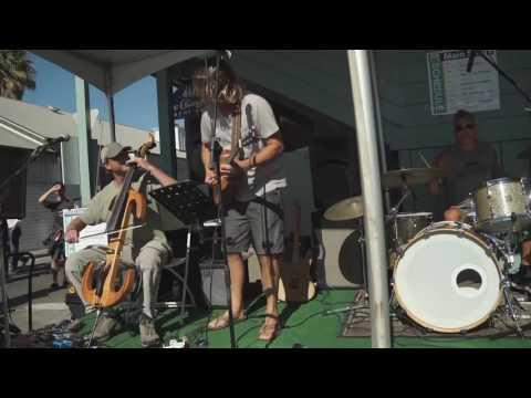 Fish & Seaweed play 2016 SB Harbor Fest 10.15.16