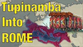 Tupinamba forms the Roman Empire! EUIV Challenge Run