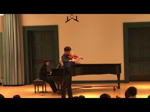 Joontae (Peabody Prep Recital)