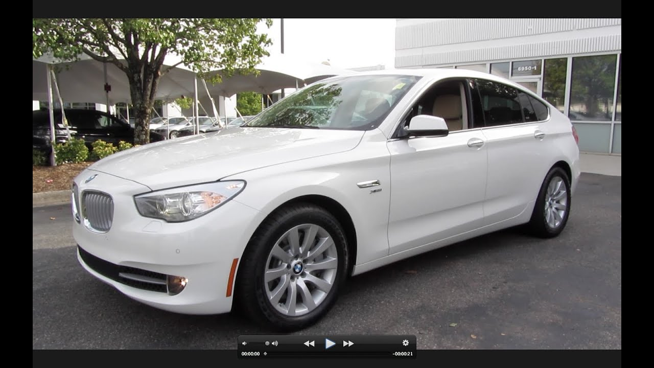 2011 bmw 550i gran turismo xdrive start up exhaust and in depth tour youtube