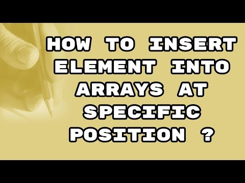 how-to-insert-an-element-in-array-at-specific-position-in-c-||-hindi-||