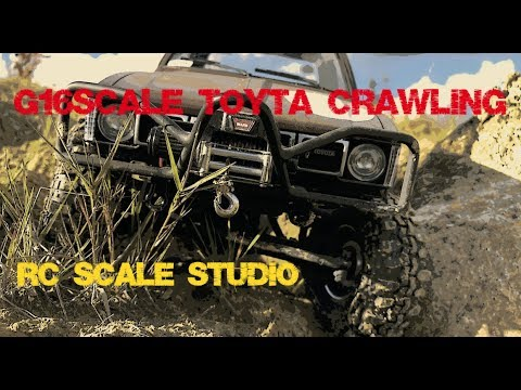 Rc Scale Studio G16scale Toyota Hilux Rc4wd Crawling