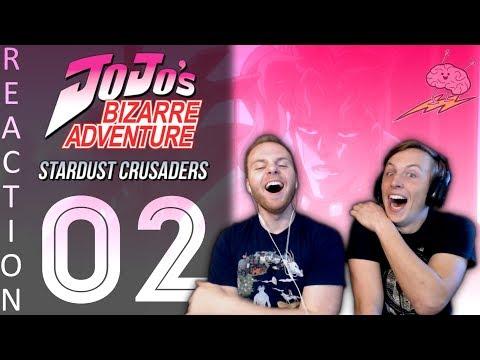 SOS Bros React - JoJo's Bizarre Adventure Part 3 Episode 2 - Dio's Minions Strike!!