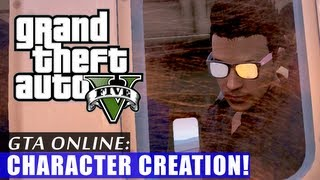GTA 5 Online: Creating a Character!
