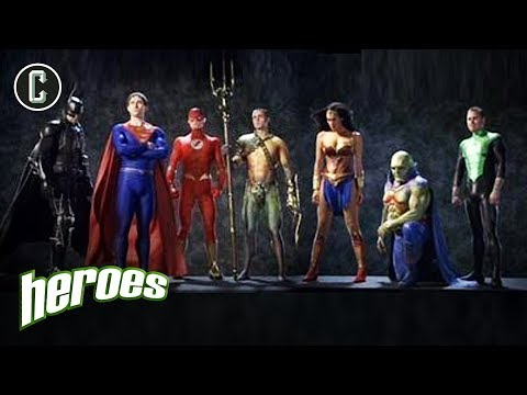 Exclusive George Miller Justice League Mortal PIC  Heroes