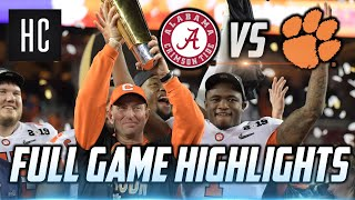 Full Game Highlights 🔥 Clemson vs. Alabama| 2019 CFB Playoff National Championship ᴴᴰ