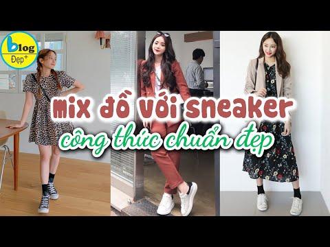 Top 12 mẹo phối đồ với giày Sneaker siêu xinh, kiểu nào cũng hợp