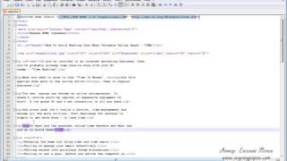 Видеоуроки HTML.   Жирный и курсивный текст