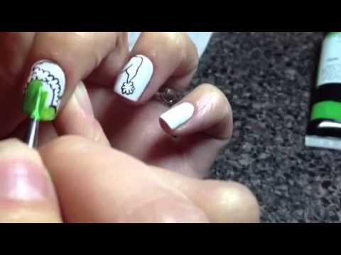 The Grinch Nail Art Youtube
