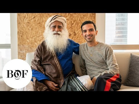 Inside the Indian Textile Industry with Sadhguru | The Business of Fashion