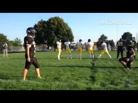 #Sterling Height field goal practice. #macombdaily