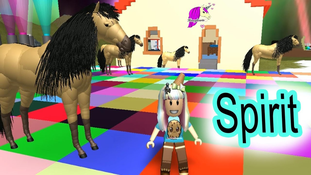 Spirit Riding Free Roblox Games ? Let's Play Random Horse Worlds - Video